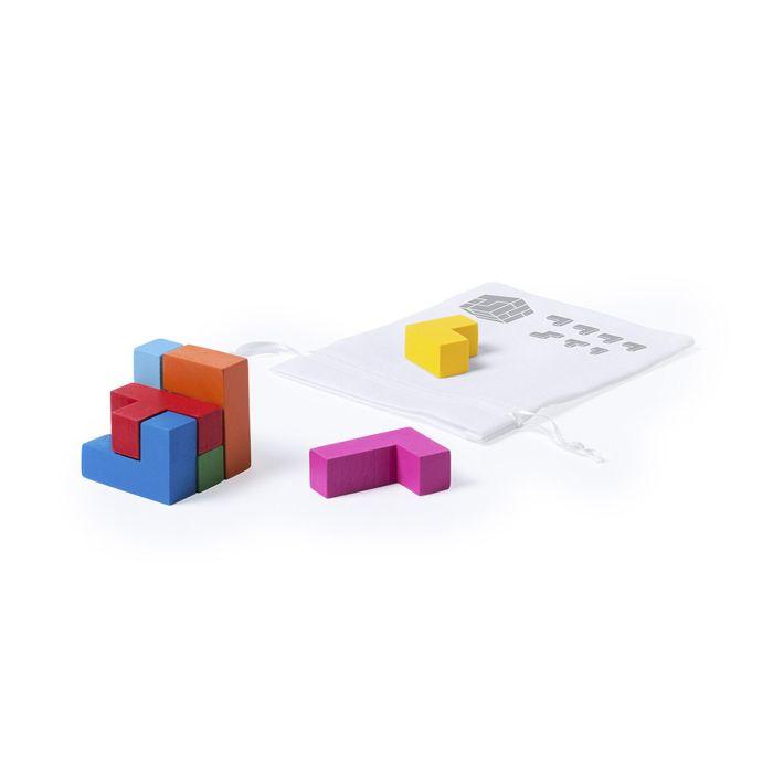 """Игра-головоломка """"Куб"""", цвет натуральный"""