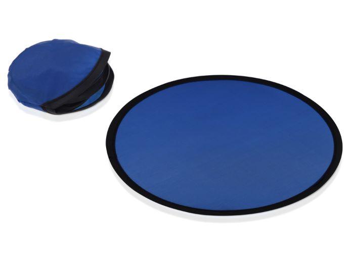"""""""Летающая"""" тарелка из полиэстера, цвет синий"""