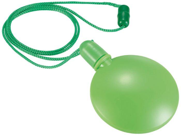 Круглый диспенсер для мыльных пузырей, 40 мл, цвет лайм