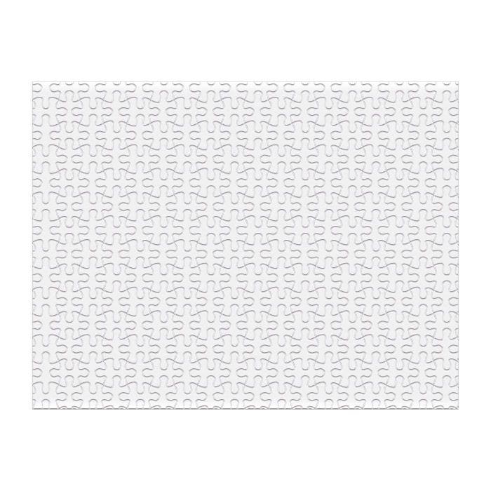 Пазл из картона для сублимации, 34,2х27 см, 252 элемента