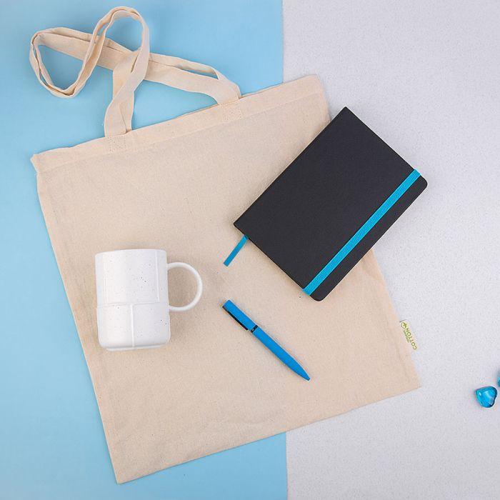 Набор подарочный EXTRAORDINARY: сумка, кружка, ручка B1, ежедневник недатированный Enote, голубой