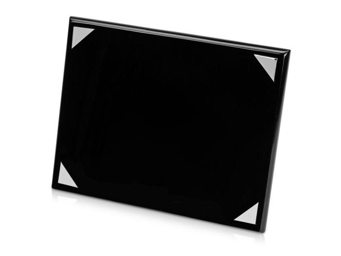 """Плакетка """"Мейсон"""", цвет чёрный с серебристым"""