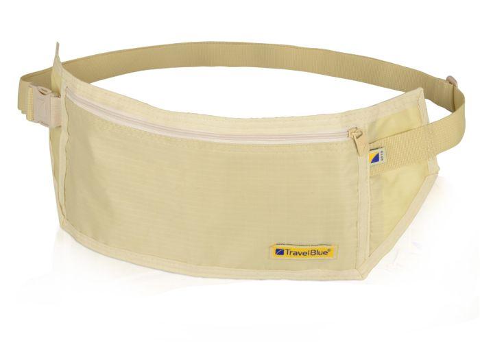Сумка-кошелек на пояс Money Belt c RFID защитой, цвет бежевый